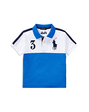 Polo Ralph Lauren Boys ColorBlocked Tech Mesh Polo  Little Kid