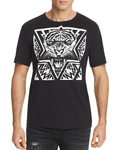 True Religion Laser Cut Tiger Tee - Bloomingdale's_0