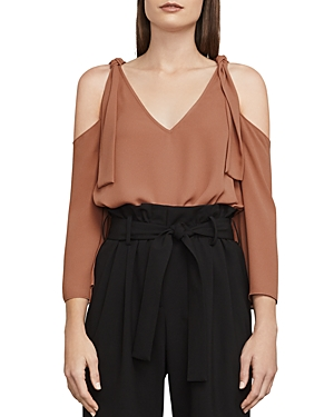 Bcbgmaxazria Caralyne Cold-Shoulder Top