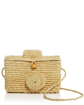 Nannacay - Sirikit Straw Camera Crossbody