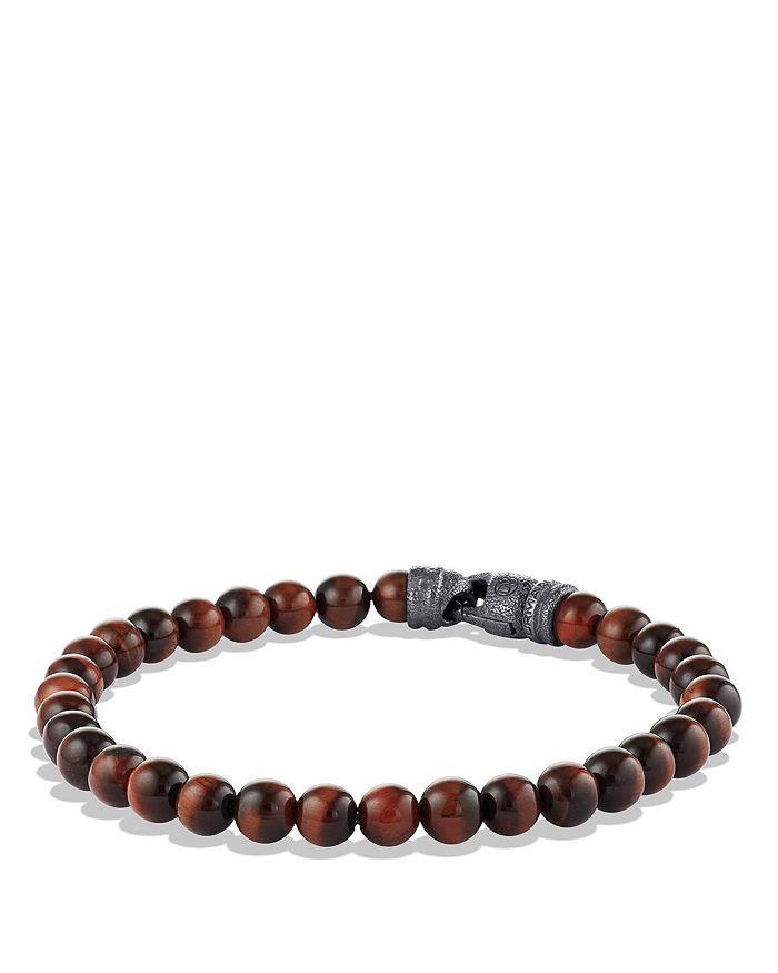 David Yurman - Spiritual Beads Bracelet with Tiger's Eye, 6mm