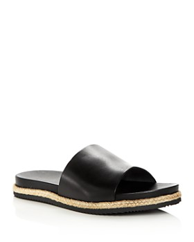 The Men s Store at Bloomingdale s - Men s Leather Slide Sandals - 100%  Exclusive ... f5d43e8b1133