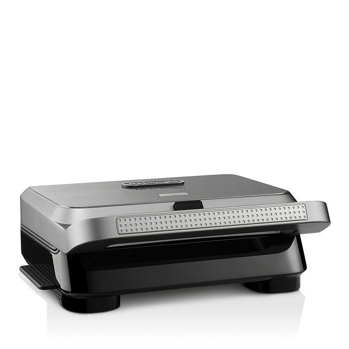 De'Longhi - Livenza Compact Grill, Griddle, Panini Press & Waffle Maker