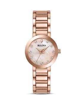 Bulova - Modern Diamond Dial Watch, 30mm