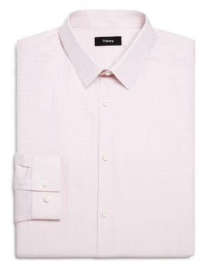 Theory Illusion Textured Slim Fit Dress Shirt