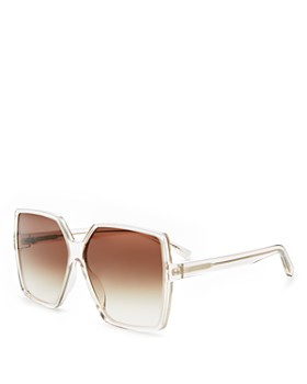 Saint Laurent - Women's Betty Oversized Square Sunglasses, 63mm