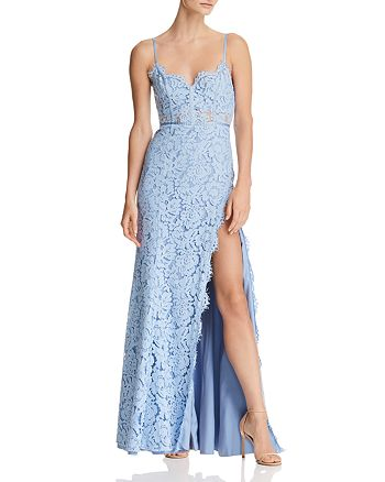 Fame and Partners - The Kirsten Lace Bustier Gown