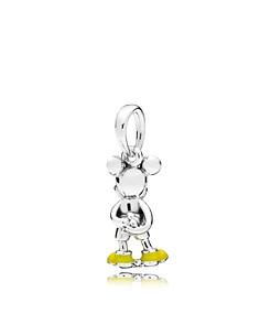 PANDORA - Sterling Silver Disney Classic Mickey Pendant