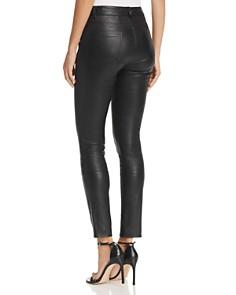 Theory - Bristol Skinny Leather Pants