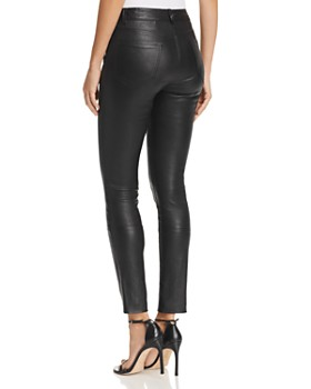 Theory - Bristol Skinny Leather Pants