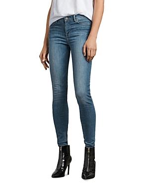 Allsaints Grace Skinny Jeans in Fresh Blue thumbnail