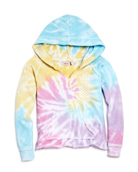 Play Six - Girls' Tie-Dye Hoodie - Little Kid