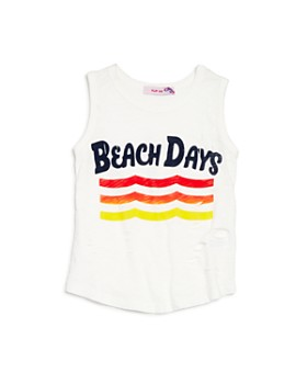 Play Six - Girls' Beach Days Tank - Little Kid