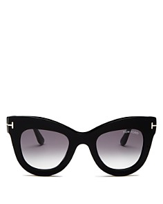 Tom Ford - Women's Karina Cat Eye Sunglasses, 47mm