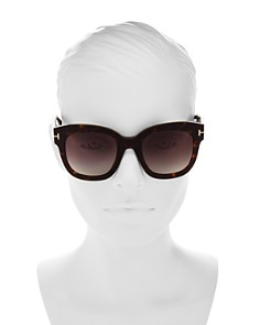 Tom Ford - Women's Beatrix Square Sunglasses, 58mm