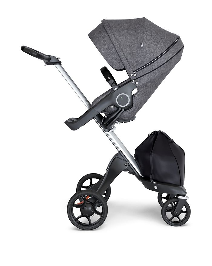 Stokke - Xplory® 6 Silver Chassis Stroller