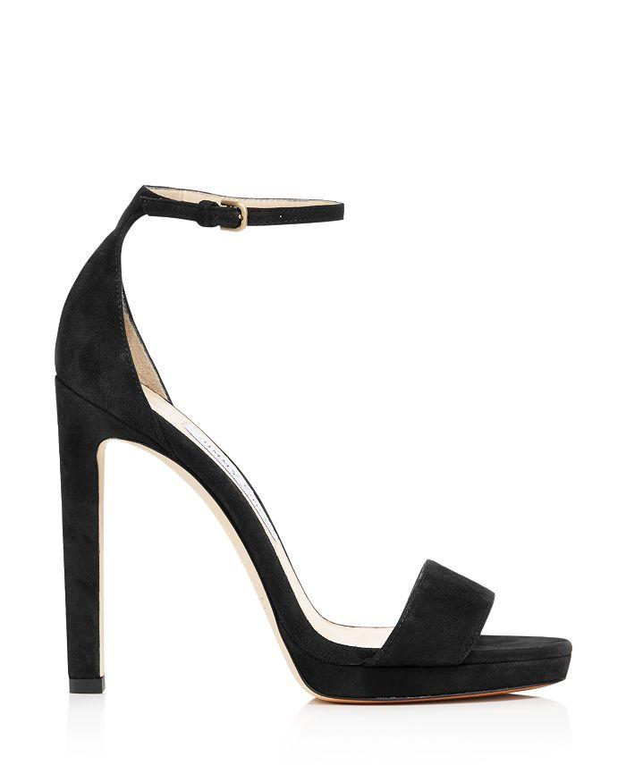 aaf883cc2d4 Jimmy Choo Women s Misty 120 Suede High-Heel Platform Sandals ...