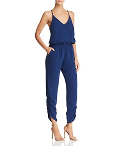Amanda Uprichard - Lowell Ruched Jumpsuit