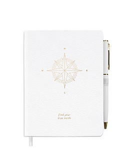Fringe - Studio True Nature Compas Journal and Pen Set