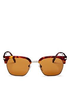 Persol - Men's Low Base Polarized Square Sunglasses, 53mm