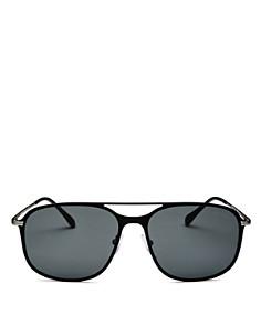 Prada - Men's Linea Rossa Evolution Brow Bar Square Sunglasses, 59mm