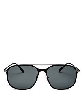 Prada - Men's Linea Rossa Evolution Brow Bar Square Sunglasses, 59mm