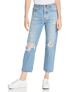 Levi's - Wedgie Straight Jeans in Authentically Yours