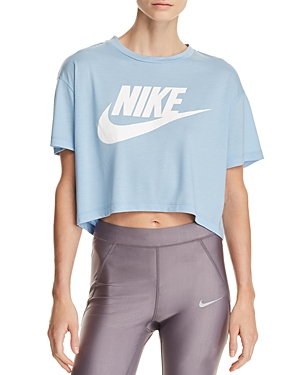 Nike Essential Logo Cropped Tee