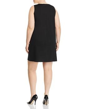 Love Ady Plus - Color-Block Shift Dress