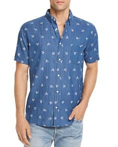 Rails Carson Indigo Tropical Button-Down Shirt - Bloomingdale's_0