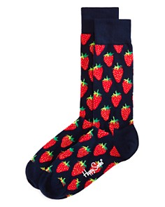 Happy Socks Strawberry Socks - Bloomingdale's_0