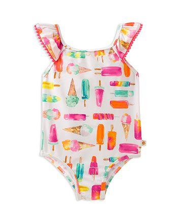 kate spade new york - Girls' Ice Cream-Print Swimsuit - Baby