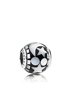 PANDORA - Sterling Silver & Mother-of-Pearl Celestial Mosaic Charm