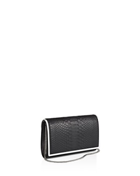 1 Atelier - Small Leather & Python Clutch