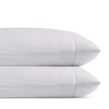 Charisma - Luxe Cotton & Linen Wrinkle-Free Standard Pillowcase, Pair