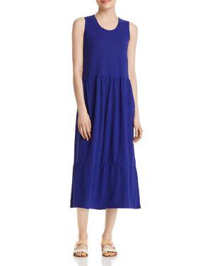 Eileen Fisher Ruffle-Hem Midi Dress 2966347