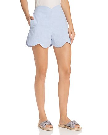 AQUA - Scalloped Shorts - 100% Exclusive