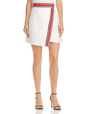 C/MEO Collective - Totality Crossover Stripe-Detail Skirt