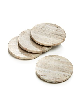 Hudson Park Collection - Marble Coasters, Set of 4 - 100% Exclusive