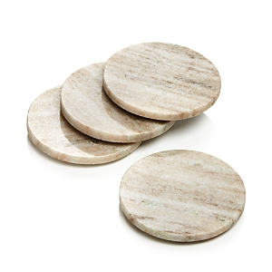 Hudson Park Collection Marble Coasters, Set of 4 - 100% Exclusive
