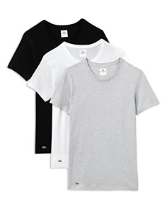 Lacoste Slim Fit Crewneck Tee, Pack of 3 - Bloomingdale's_0