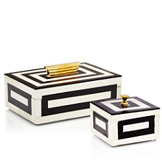 Kassatex Monochrome Boxes - Bloomingdale's_0