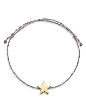 Suel 14K Yellow Gold Star Cord Bracelet