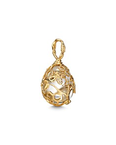 Temple St. Clair 18K Yellow Gold Beehive Rock Crystal & Diamond Amulet - Bloomingdale's_0