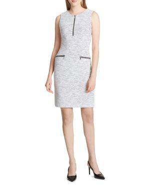 Calvin Klein Jacquard Sheath Dress 2969506