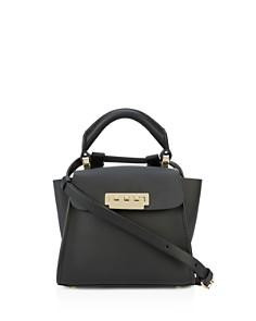ZAC Zac Posen - Eartha Iconic Convertible Mini Leather Top Handle Belt Bag