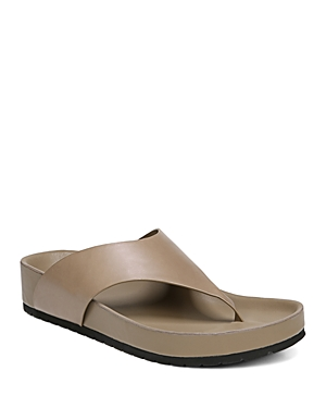 Vince Women's Padma Leather Thong Sandals