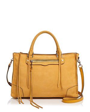 Rebecca Minkoff Regan Nubuck Leather Satchel 3113320