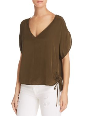 Milly Dolman-Sleeve Top