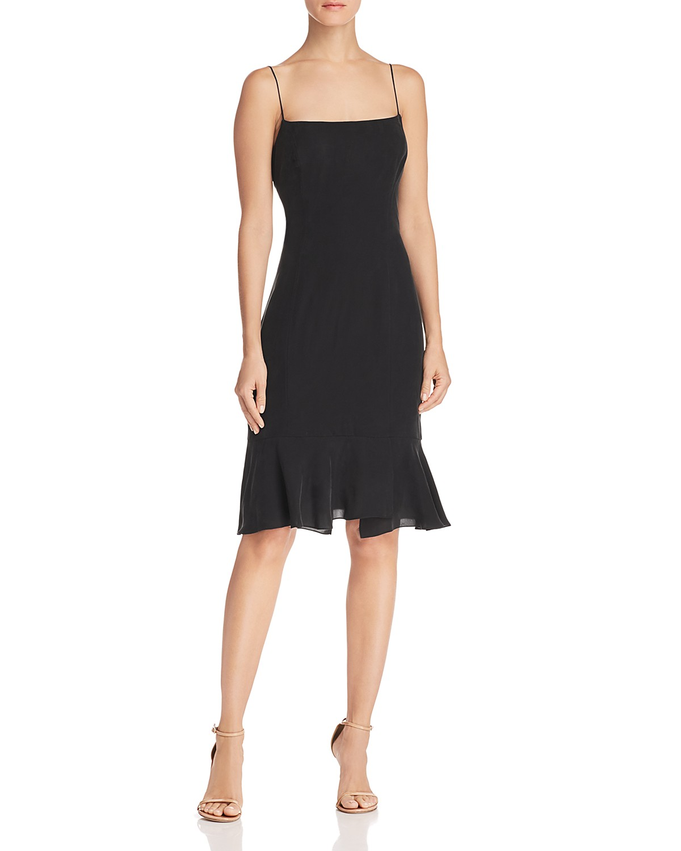 MILLY Mandy Flounce-Hem Dress | Bloomingdale\'s